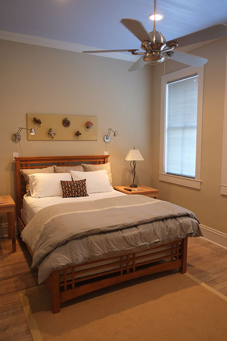 Courthouse Suite - Fully Equipped and Furnished Overnight Stays, Bedroom | Woodville Lofts & Studios, Mississippi, MS