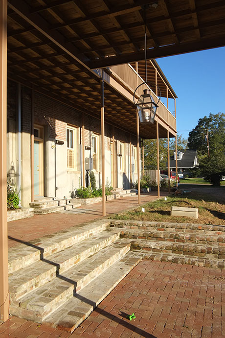 Office 127 Exterior, Woodville Office Rental | Woodville Lofts & Studios, Mississippi, MS
