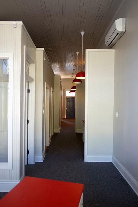 Office 127 Hallway, Woodville Office Rental | Woodville Lofts & Studios, Mississippi, MS