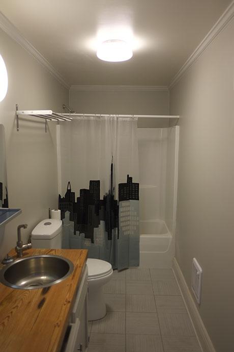 Office 127 Bathroom, Woodville Office Rental | Woodville Lofts & Studios, Mississippi, MS