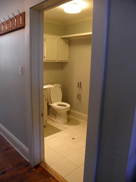 Town Square Café Bathroom, Woodville Restaurant or Coffee Shop Rental   Mississippi, MS