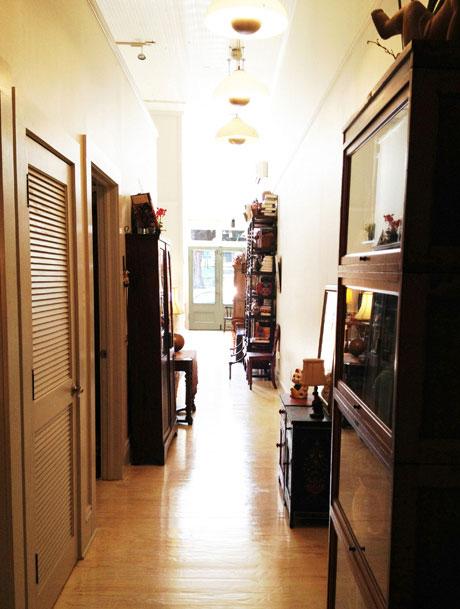 WLive-work 145 Hallway, Woodville Live-work Rental | Woodville Lofts & Studios, Mississippi, MS