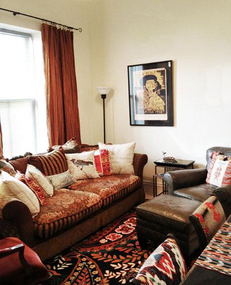Live-work 145 Living Room, Woodville Live-work Rental | Woodville Lofts & Studios, Mississippi, MS