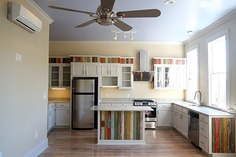 Apartment A Kitchen, Woodville Apartment Rental | Woodville Lofts & Studios, Mississippi, MS