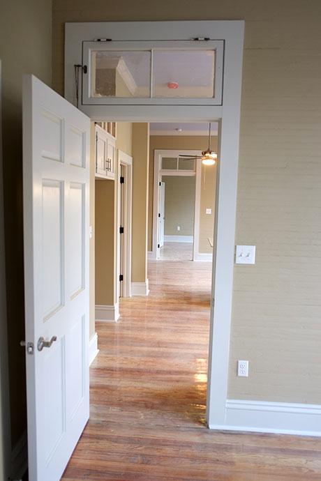 Apartment B Hallway, Woodville Apartment Rental | Woodville Lofts & Studios, Mississippi, MS
