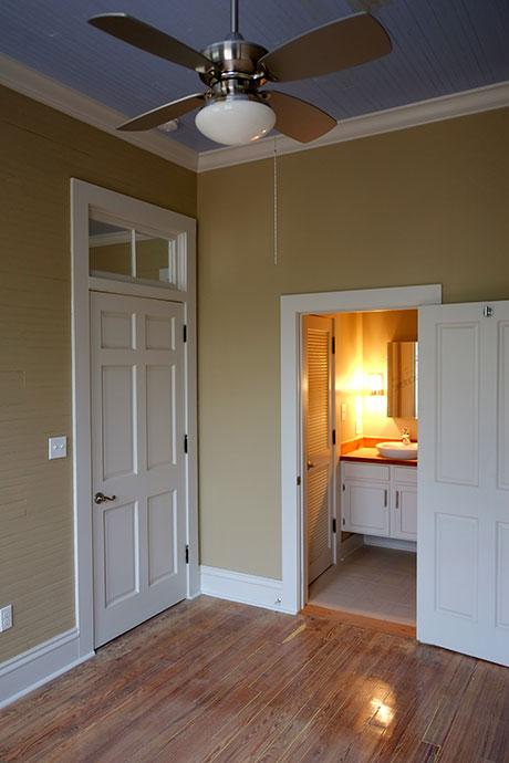 Apartment B Bathroom, Woodville Apartment Rental | Woodville Lofts & Studios, Mississippi, MS