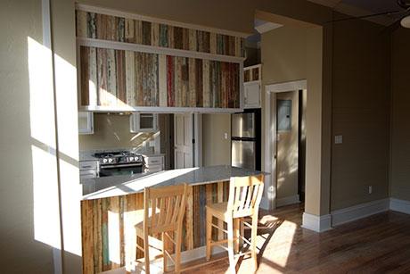 Apartment B Kitchen, Woodville Apartment Rental | Woodville Lofts & Studios, Mississippi, MS